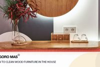 How to Clean Wood Furniture in The House